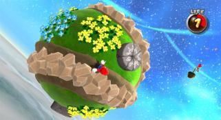 Mario Galaxy gravity