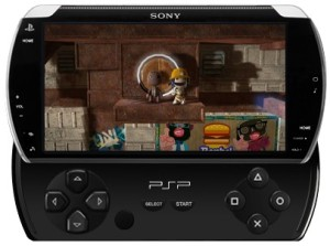 1Up's mockup of the new PSP design